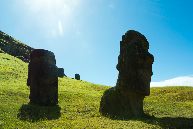 In Rapa Nui you are never alone