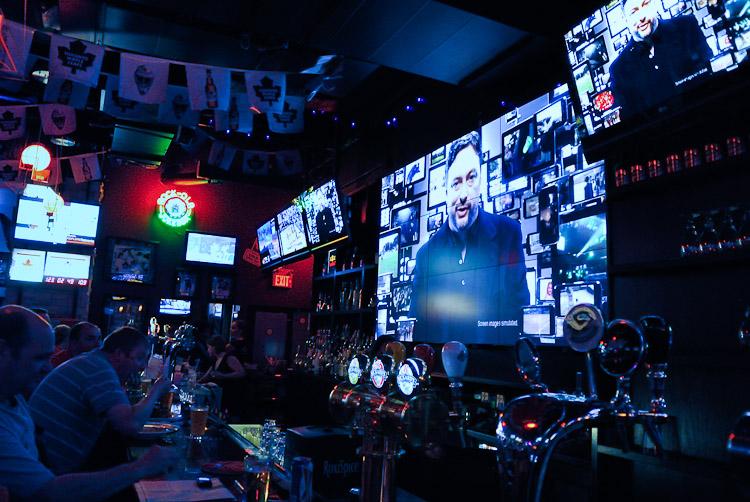 sports bar Toronto