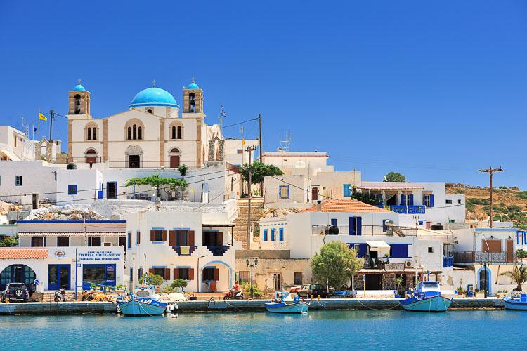 Lipsi Harbour Dodekanisos