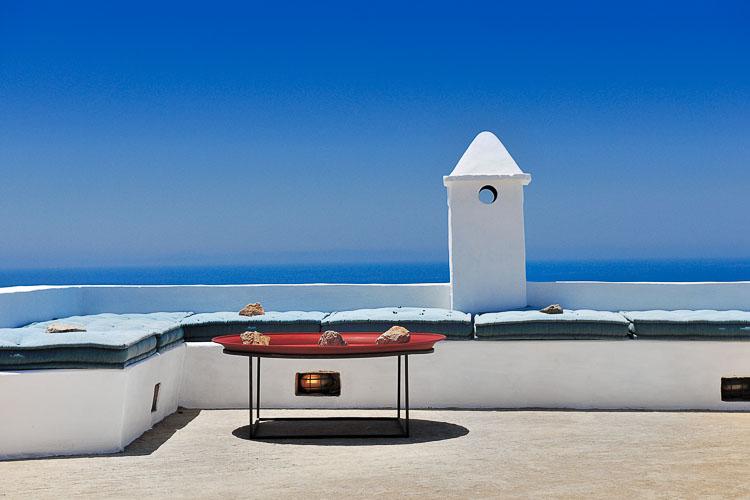 Beyond Spaces Villas, roof terrace, Patmos