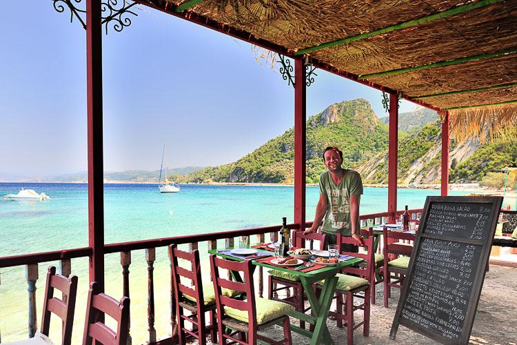 Samos Donna Rosa Restaurant