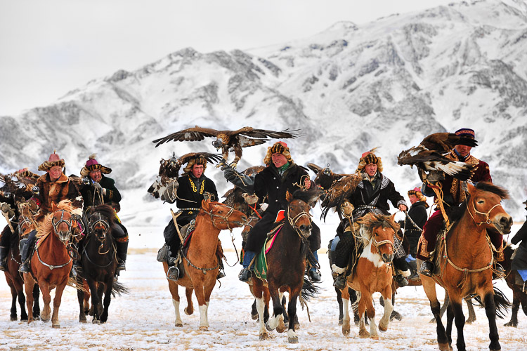 Eagle Hunters Festival, Mongolia
