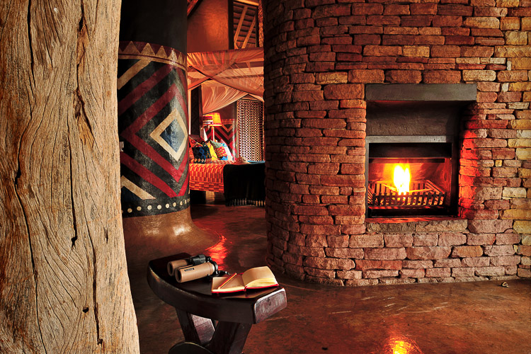 interior at Pamushana Lodge, Singita Zimbabwe