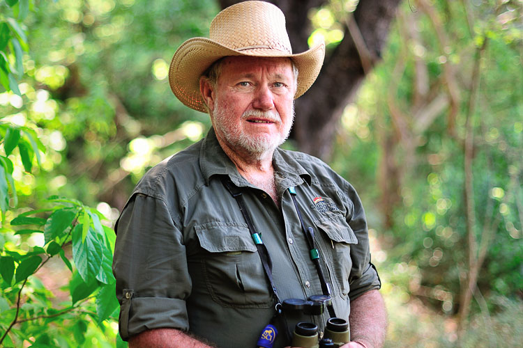 Clyve Stockill, Wild Life expert, Zimbabwe