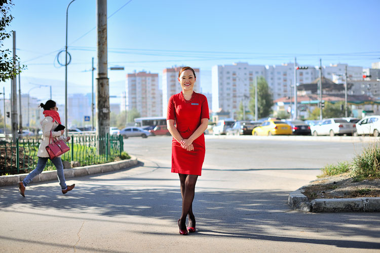 Kempinski's brand ambassadors - the Lady in Red