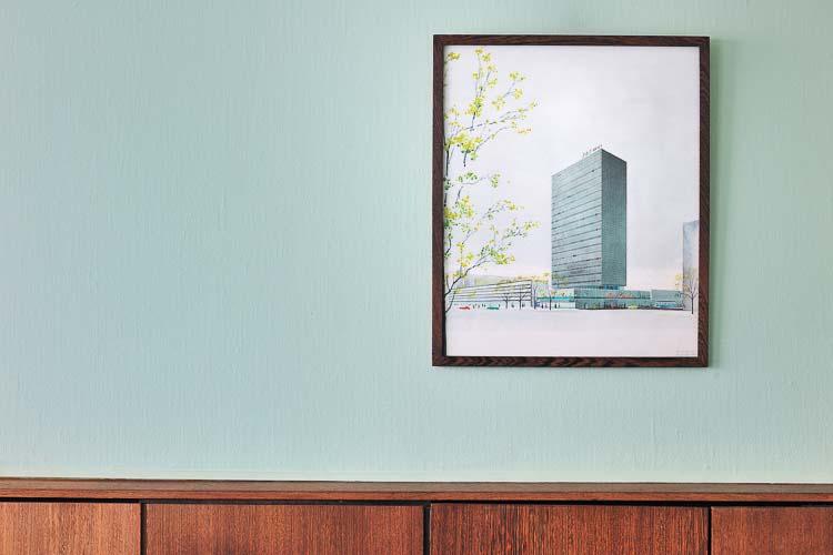 Suite 606, original Arne Jacobsen at Radisson SAS Royal - Copenhagen