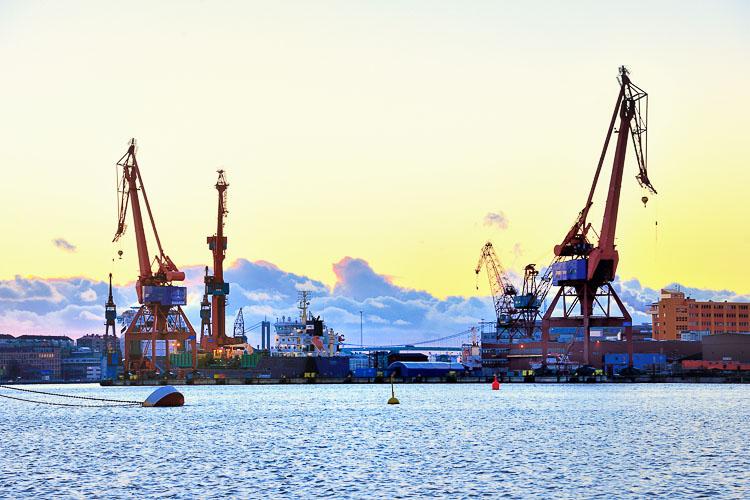 Gothenburg port - Sweden