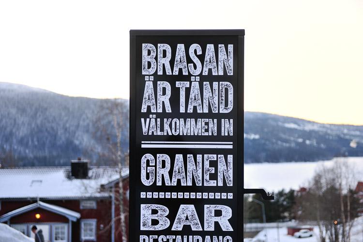 Granen Hotel, Are