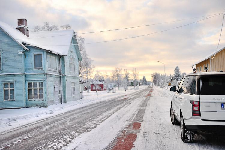 Range Rover Scandinavia Road Trip