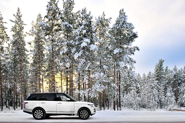 Range Rover Autobiography Scandinavia Road Trip