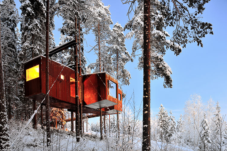 Dragonfly Treehotel, Sweden