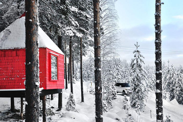 The Blue Cone - Treehotel, Sweden