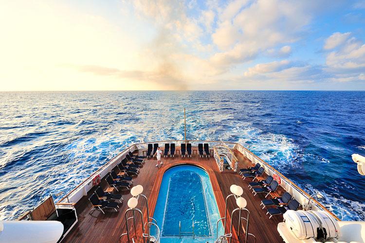 Last day at sea - Seadream II