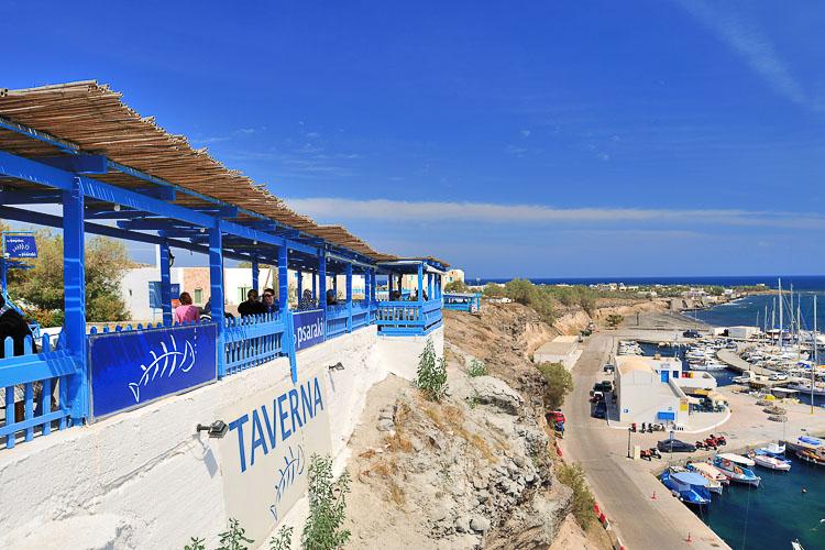 Restaurant To Psaraki - Santorini