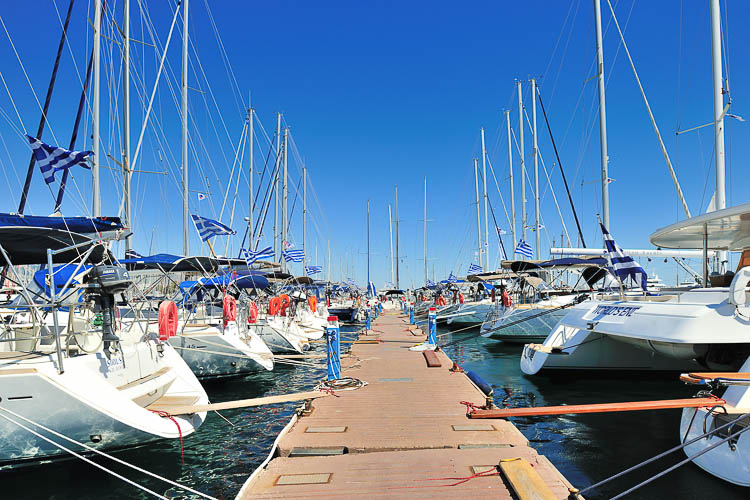 Yacht Harbour Athens