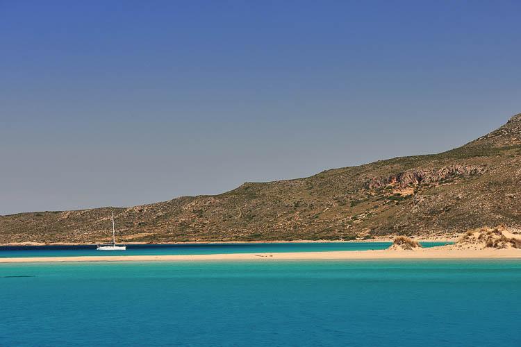 Elafonisos bay - World's End Catamaran - Greece