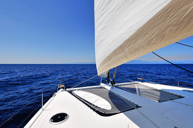 Luxury Catamaran World's End ,Galathea 65 ,Fountain Pajot, Greece