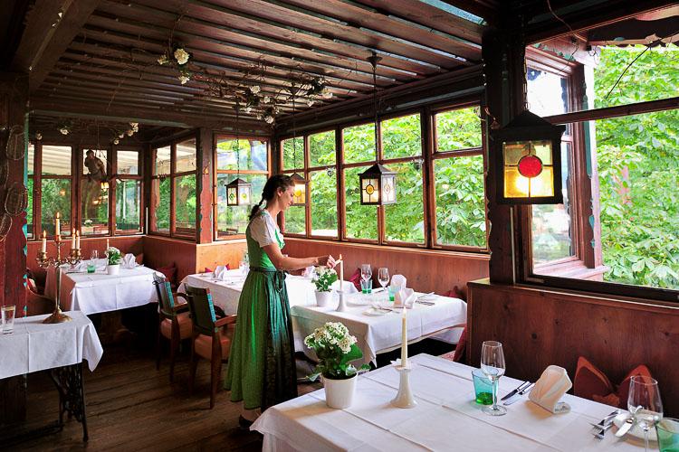 Alfred Millers Schoneck Restaurant, Innsbruck, Tirol, Austria