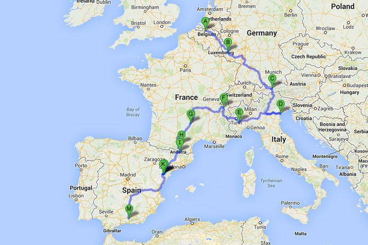 Trans Europa Roadtrip