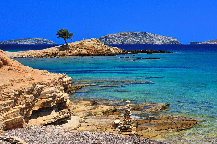 Monodendri beach, Lipsi Island - Greece