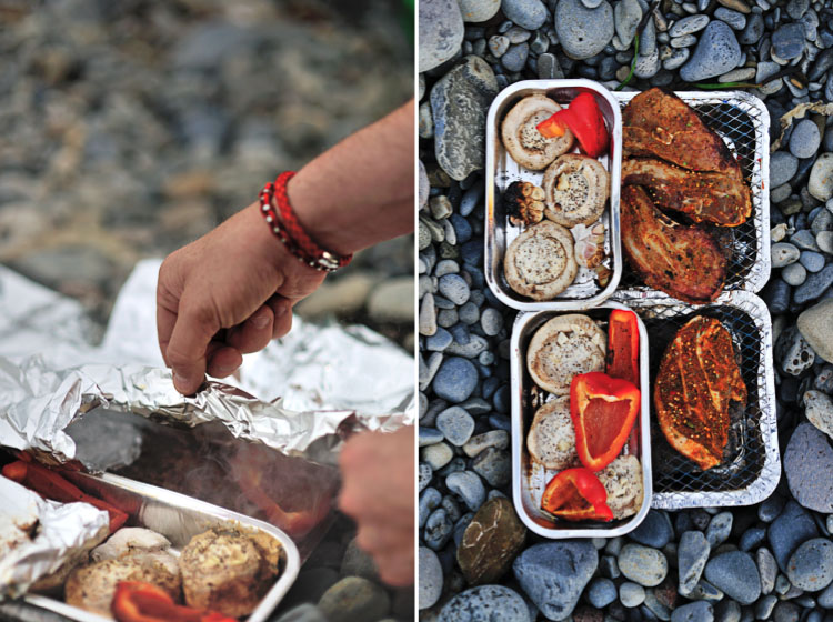 BBQ on the beach with Nordic Luxury