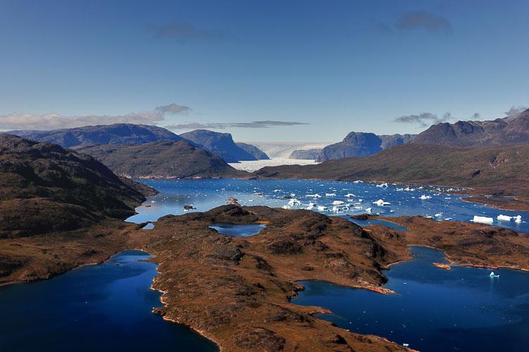 View at Narsarsuaq - Greenland